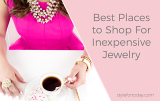 Best Places to Shop For Inexpensive Jewelry from Style For Today
