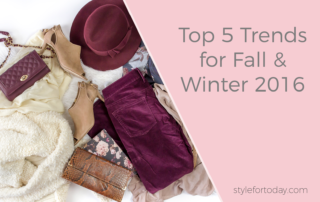 Top 5 Fashion Trends for Fall & Winter 2016 from Style For Today